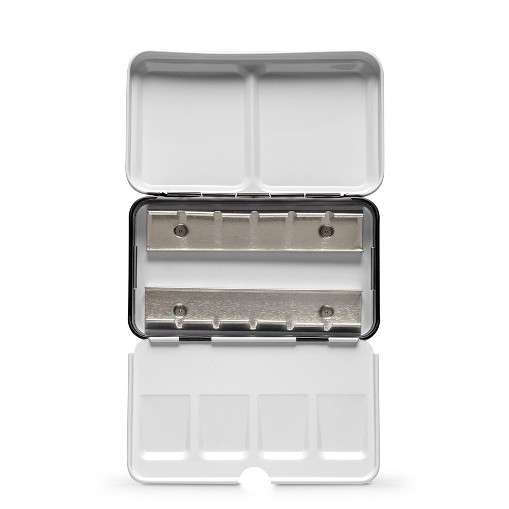 Jackson's : Empty Metal Watercolour Box : Holds 12 Half Pans or 6 Full Pans