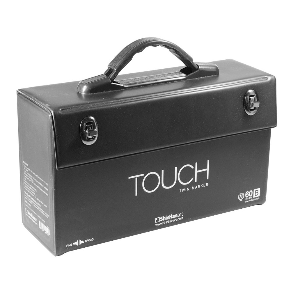 ShinHan : Touch Twin Marker Pens : Empty Cases