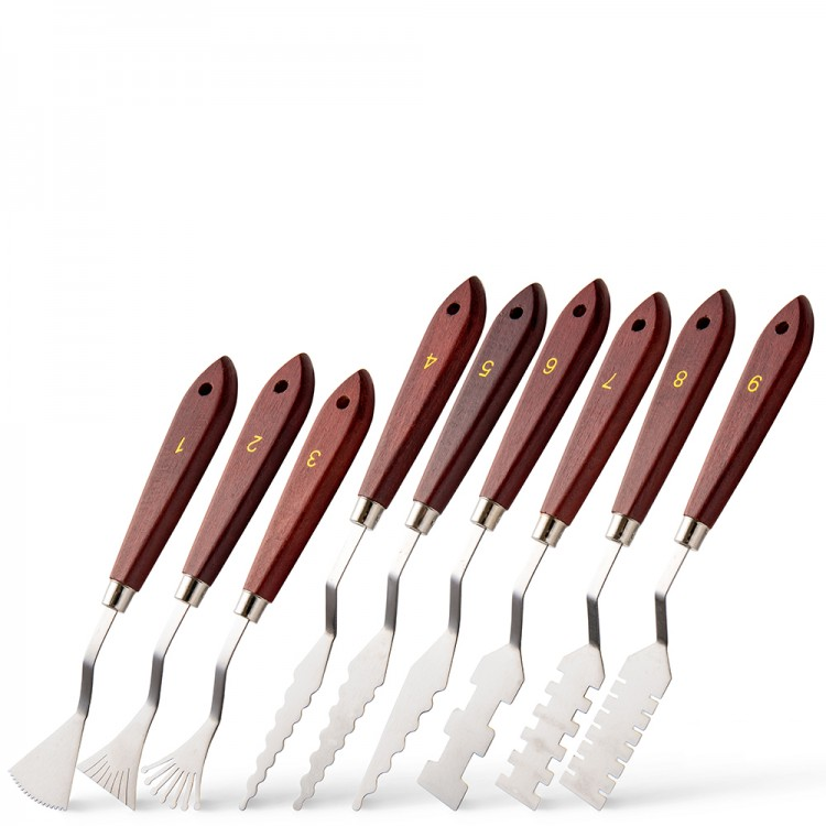 Painting Knife : Set of 9