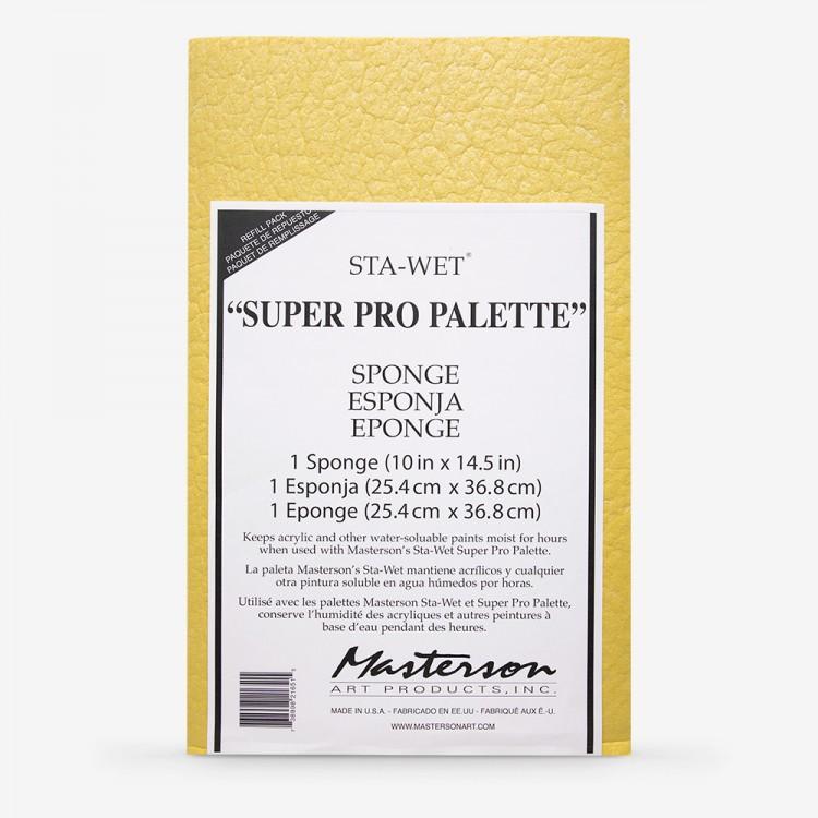 Masterson : Super Pro Sponge Refill for Stay Sta-Wet Palette