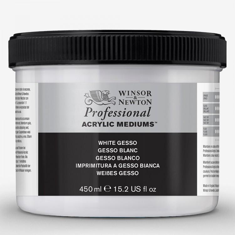 Winsor & Newton weiß Acryl-Gesso 474ml