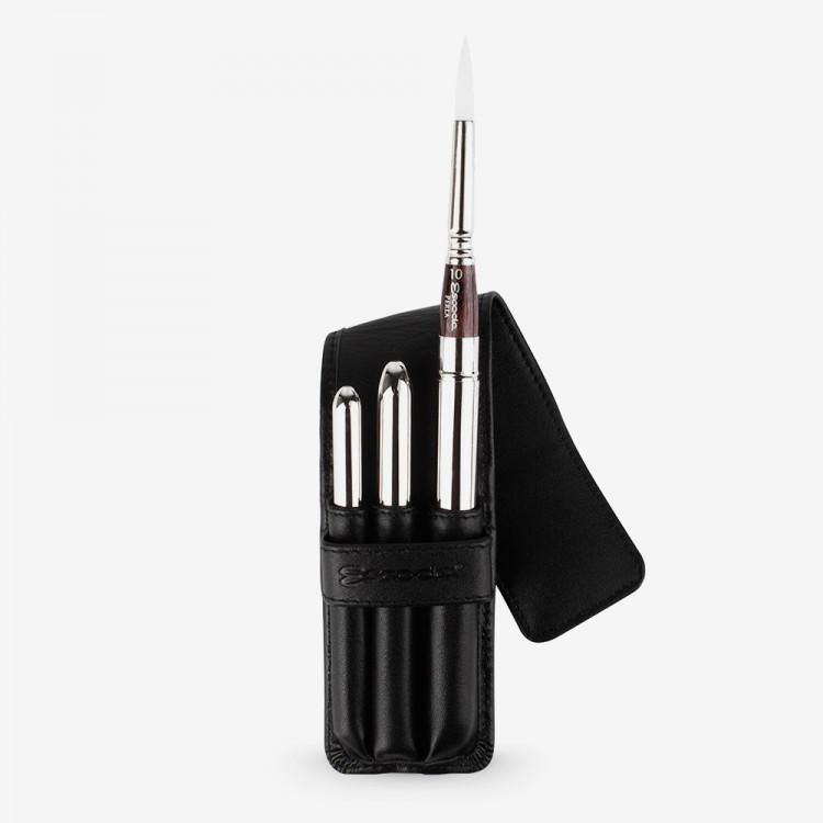 Escoda : Watercolour Travel Brush Set : Perla : Series 1253 : Set of 3