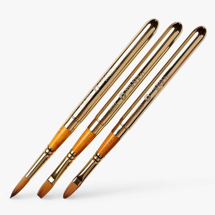 Pro Arte : Prolene Plus : Retractable (Collapsible) Watercolour Brush : Set of 3