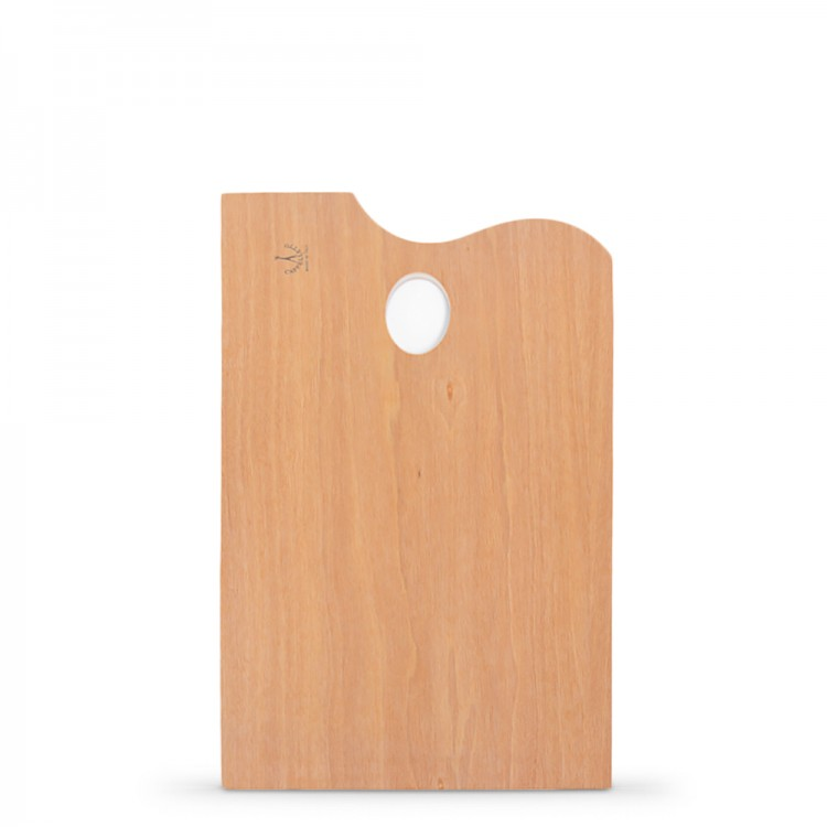 Cappelletto : Lacquered Rectangular Plywood Palette : 20x30cm