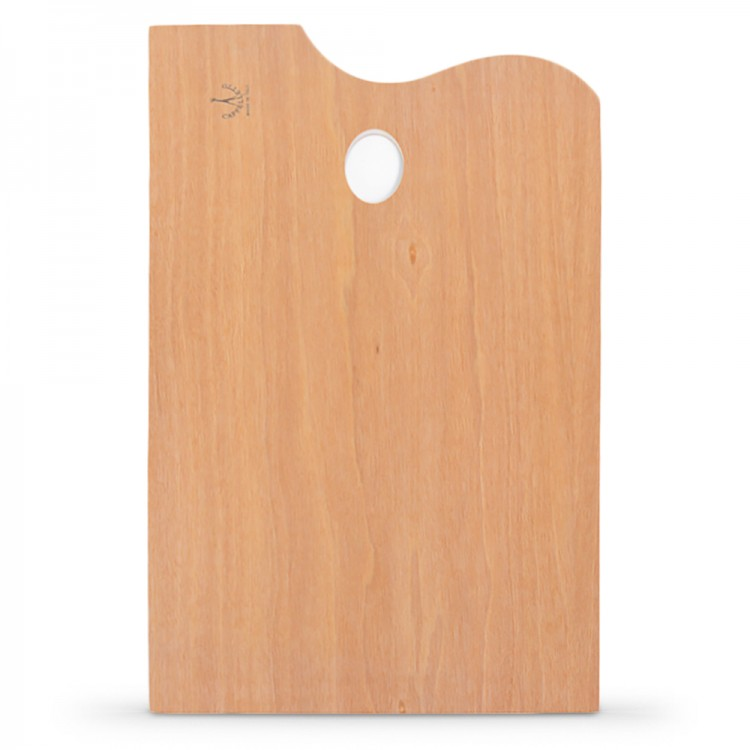 Cappelletto : Lacquered Rectangular Plywood Palette : 30x40cm
