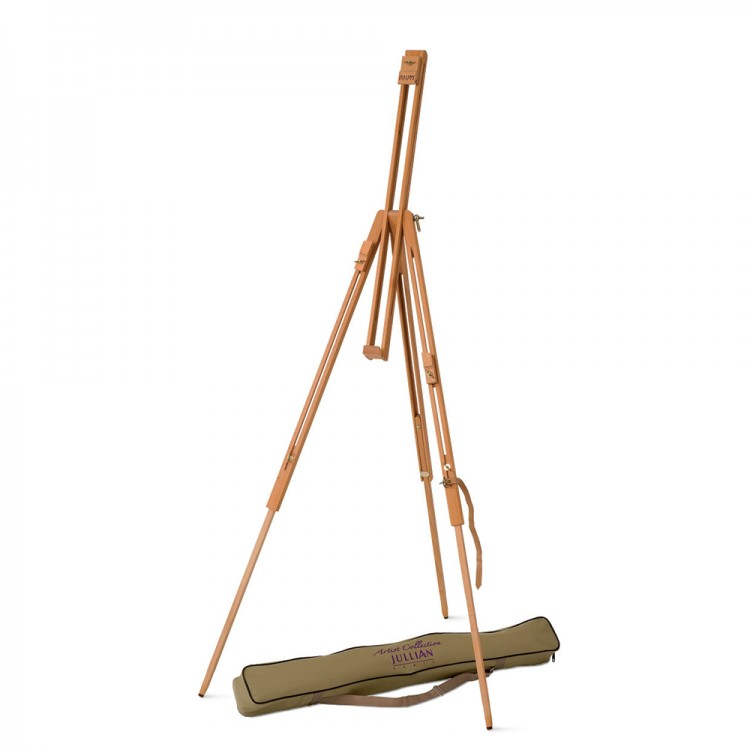 Jullian : Small Field Easel : Beechwood : With Carrying Bag