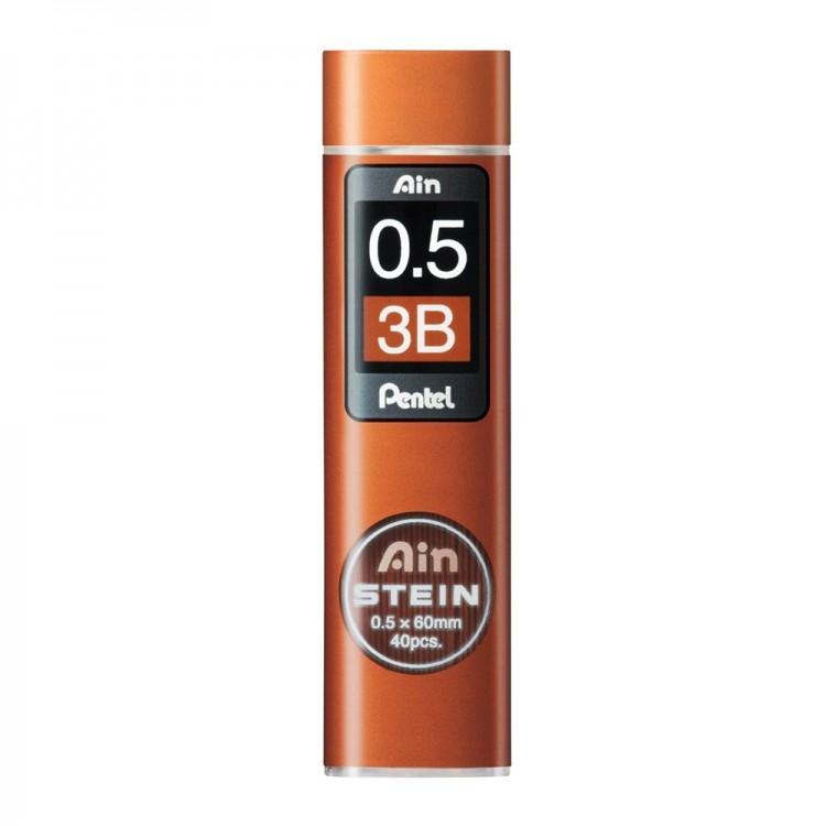 Pentel : Ain Stein : Lead Refill : 0.5mm : 3B