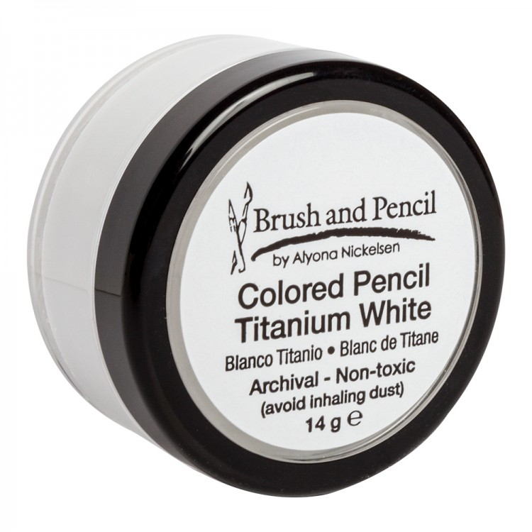 Brush and Pencil : Coloured Pencil Titanium White