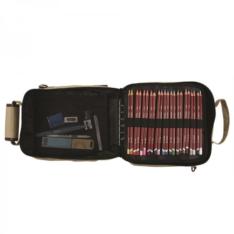 Derwent: Carry-All-Bleistift-Aufbewahrungstasche