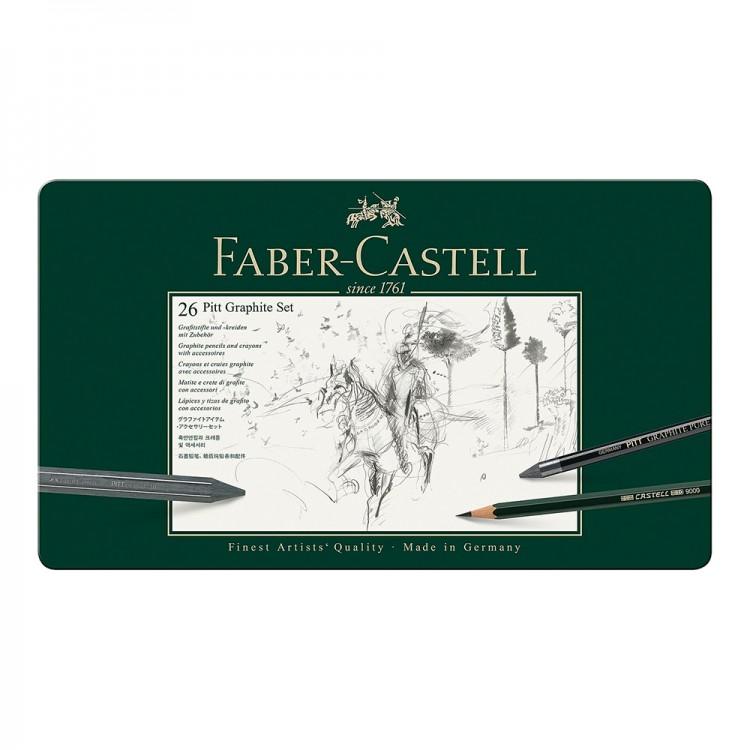 Faber Castell : Pitt : Graphite : Set of 26
