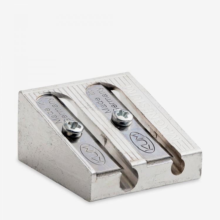Koh-I-Noor: Doppel Metall Anspitzer 11 + 8 mm Durchmesser/Bleistifte