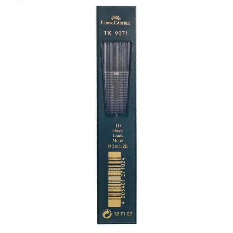 Faber Castell: 10 führt 2mm: 2 b für Kupplung Bleistift