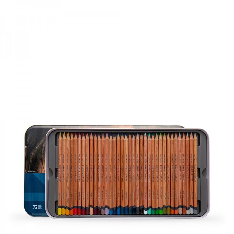 Derwent : Lightfast : Colour Pencil : Tin Set of 36 : Plus Extra Empty Tray