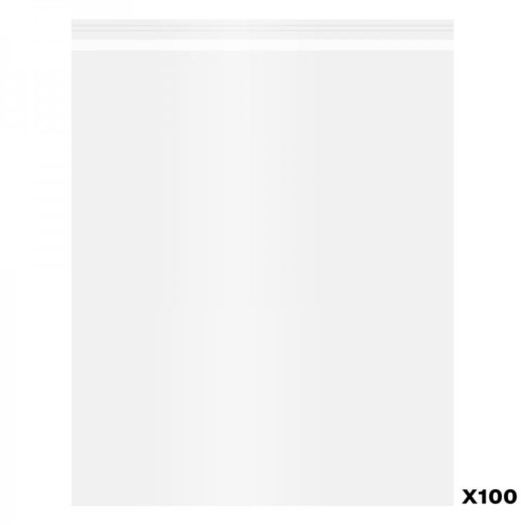 100er Pack von Polypropeline Taschen selbst versiegeln: 11 x 14 in.