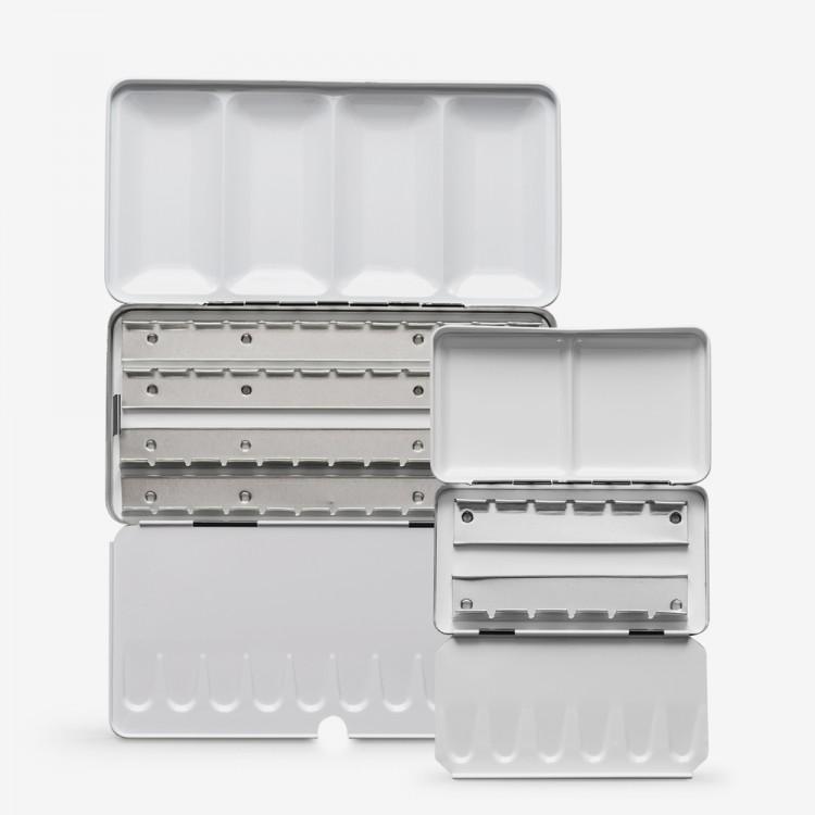 Jackson's : Empty Metal Watercolour Boxes : For Pans