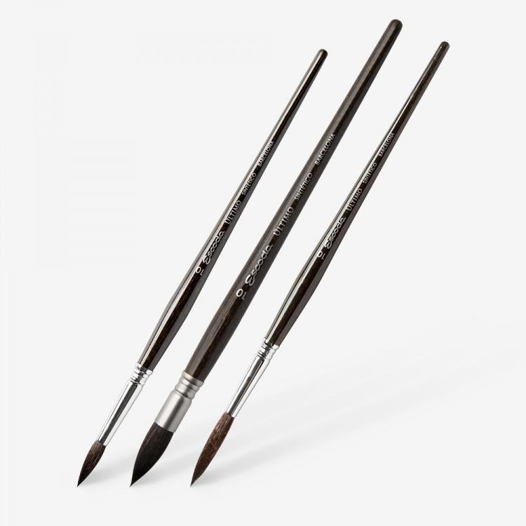 Escoda : Ultimo Tendo Synthetic Brushes : 1525 / 1526 / 1530 / 1533