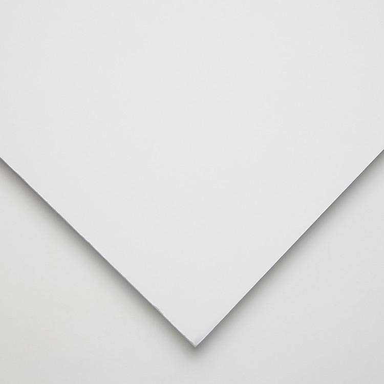 Halbmond Art Schaumstoff-Board: Multi laminiert weiß: 5mm: A4