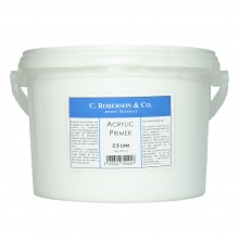 Roberson : Acrylic Primer : 2.5 Litre : Ship By Road Only