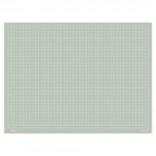 Jackson's : A2 Grey Cutting Mat : Double Sided CM & Inch Grid : 45x65cm : 17.7x23.6in