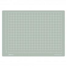 Jackson's : A4 Grey Cutting Mat : Double Sided CM & Inch Grid : 22x30cm : 8.66x11.81in