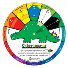 Color Wheel Company : Colorsaurus - Childrens Color Wheel