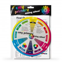 Color Wheel Company : CMY Primary Mixing Wheel and Workbook