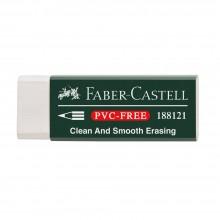 Faber Castell : White Vinyl Eraser with Sleeve