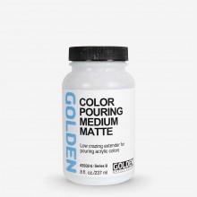 Golden : Colour Pouring Medium : Matte : 237ml
