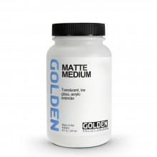 Golden : Matte Medium : 236ml