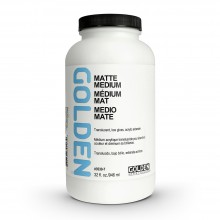 Golden : Matte Medium : 946ml