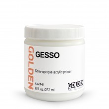 Golden : Acrylic Gesso : 236ml