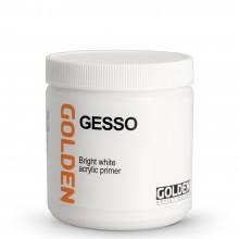 Golden : Acrylic Gesso : 473ml