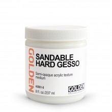 Golden : Sandable Hard Gesso : 236ml