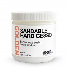 Golden : Sandable Hard Gesso : 473ml