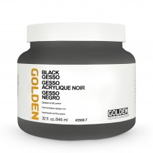 Golden : Black Gesso : 946ml