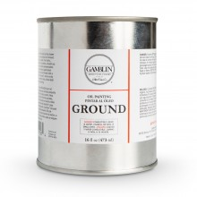 Gamblin : Oil Painting Ground : 473ml : Ship By Road Only