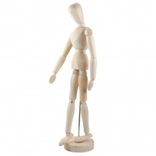 Studio Essentials : Wooden Manikin 12In
