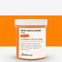 Jackson's : Artist Acrylic Paint : 250ml : Cadmium Yellow Deep Genuine