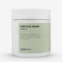 Jackson's : Acrylic Gel Medium : 500ml