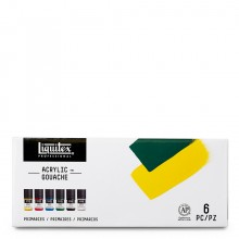 Liquitex : Professional : Acrylic Gouache : 22ml : Primaries Set of 6