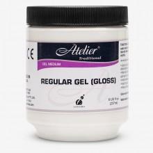 Atelier : Acrylic Medium : 250ml : Regular Gel : Gloss