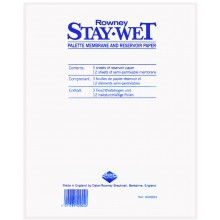 Daler Rowney: Bleiben nasse Palette REFILL Pack kleine 10x11in