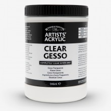 Winsor & Newton : Professional : Acrylic Medium : Clear Gesso Primer : 946ml