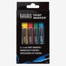 Liquitex Marker: Set 6 x 2mm Nib