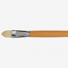 Escoda: Extra lang behandelt Hog (60cm) S 4535 Filbert Pinselgröße: 24