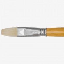 Escoda: 18 Chungking Borste Hog lange Flachpinsel Serie 4829