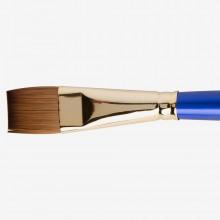 Daler Rowney Sapphire Pinsel: Serie 55 flache Wash-Größe 3/4 in