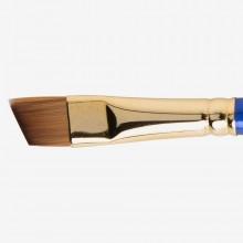 Daler Rowney Sapphire Pinsel: Serie 57 gewinkelt Shader Größe 1/2 in