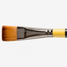 Daler Rowney : System 3 : Acrylic Brush : Sy55 Sh Short Flat : 3/4In