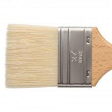 Escoda: 27 CLASICO: Mottler weiße Borste Matt lackiert Holzgriff